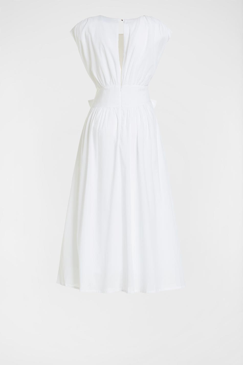 COTTON VOILE DRESS